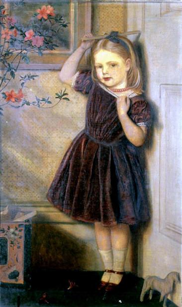 Cecily Ursula, Aged Three