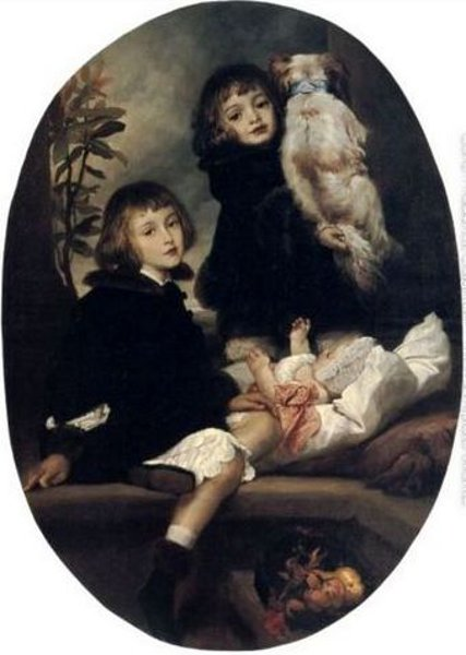 F.Leighton - Ida, Adrian And Frederic Marryat