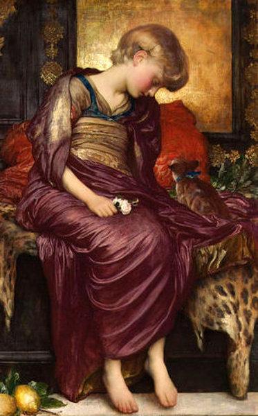F.Leighton - Kittens