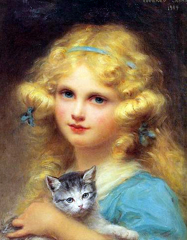 portrait-of-a-young-girl-holding-a-kitten