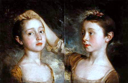 The Painter's Daughters, Mary And Margaret