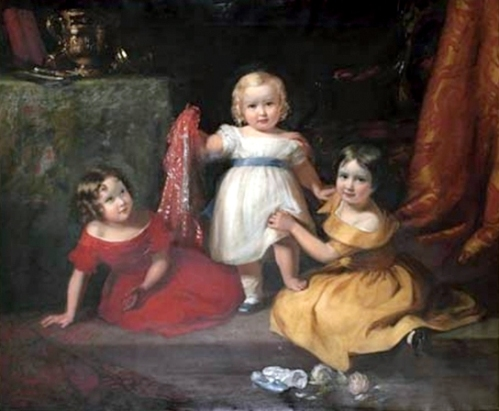 Group Portrait of John Scott and His Sisters