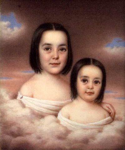 Miss Mira Bouligny and Miss Teresa Bouligny