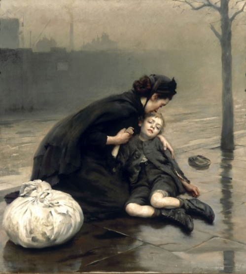 Homeless, 1890