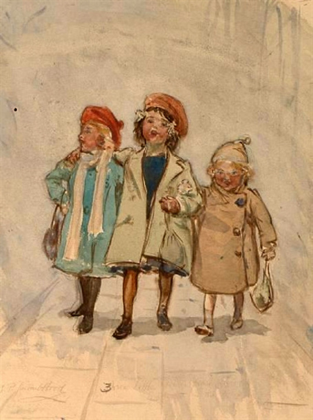 Three Little Girls From School