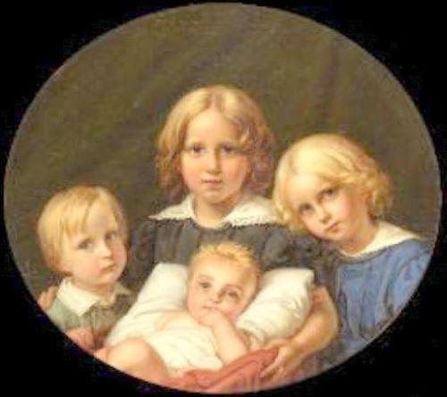 Die vier Kinder des Kunstlers