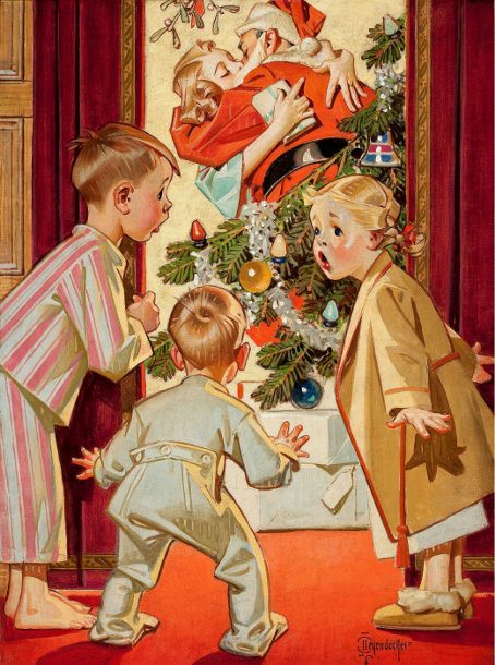 Norman Rockwell Christmas Cards