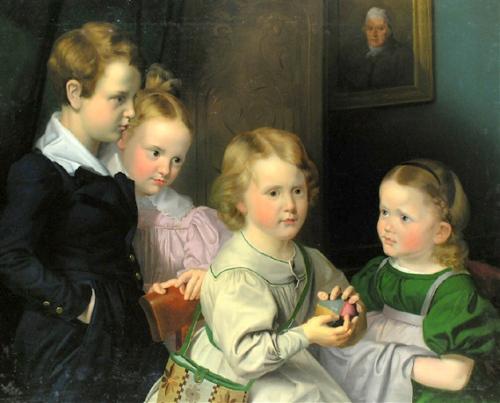Kinder der Familie Simrock