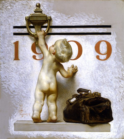 New Year Baby 1909