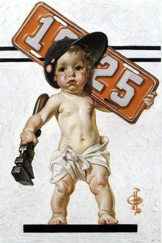 New Year's Baby Mechanic