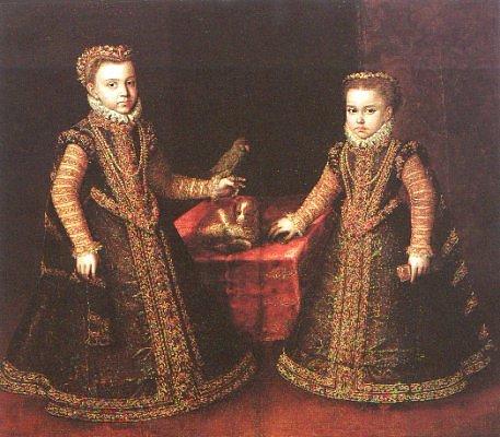 Ritratto delle infante di Spagna, Isabella Clara Eugenia e Catalina Micaela
