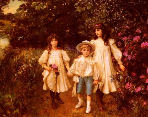 Muriel, Cynthia and George Perkins
