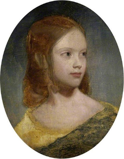 Emma Sandys, The Artist's Sister, Aged 10