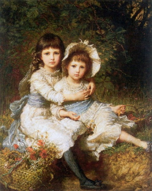 Cecile and Adela, Children Of George Drummond