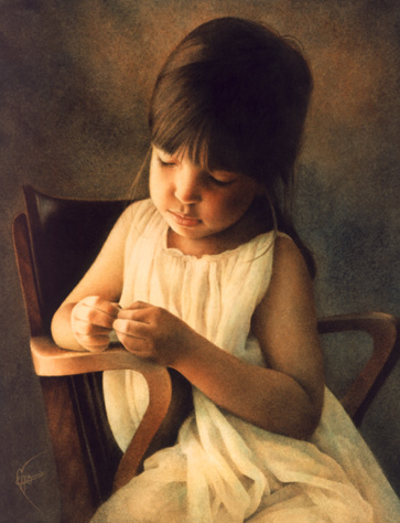 Child On A Chair