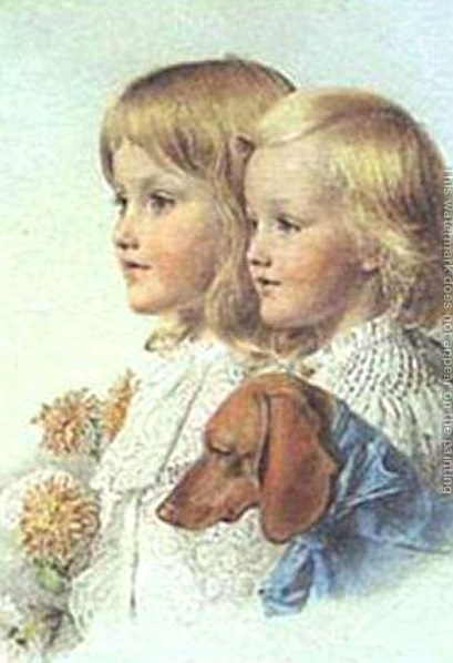 Conrad And Violet Flower