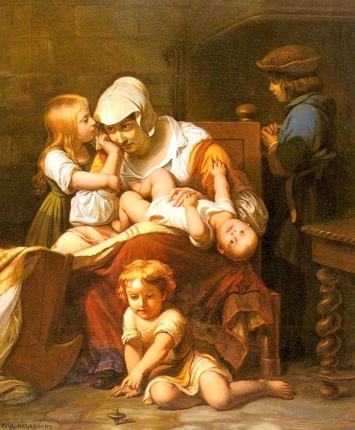 Jeune mere et ses enfants