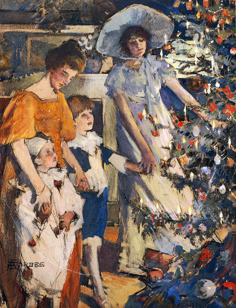 Elizabeth A. S. Forbes - The Christmas Tree