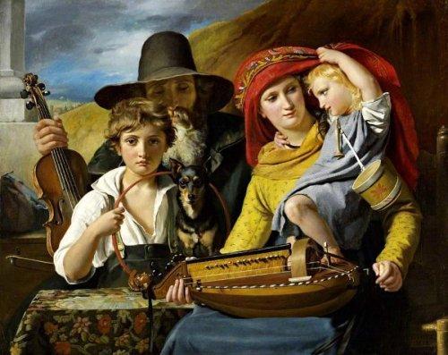 Les musiciens ambulants