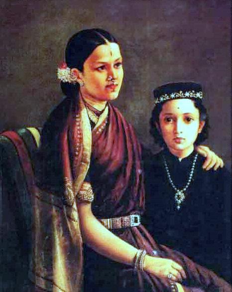 Mrs. Ramanadha Rao And Son