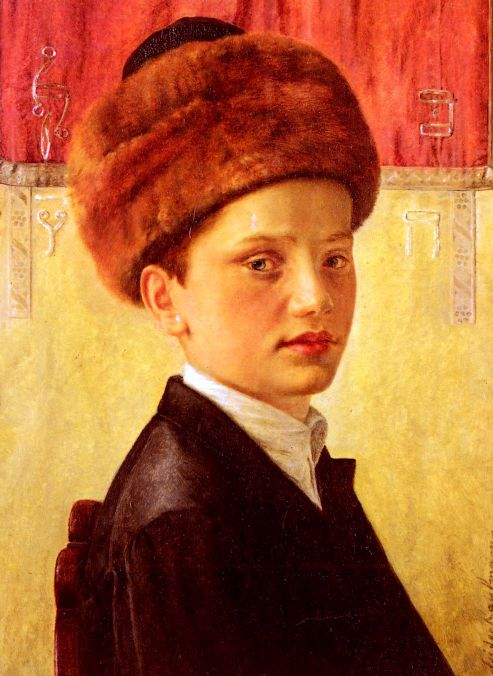 Portrait Of A Young Chassidic Boy