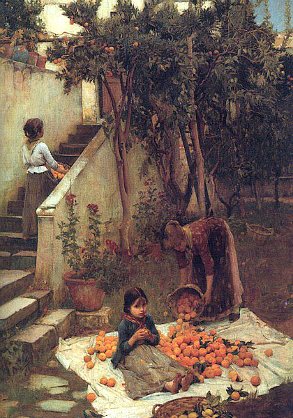 The Orange Gatherers