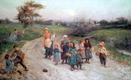 The Return From School, Calvados