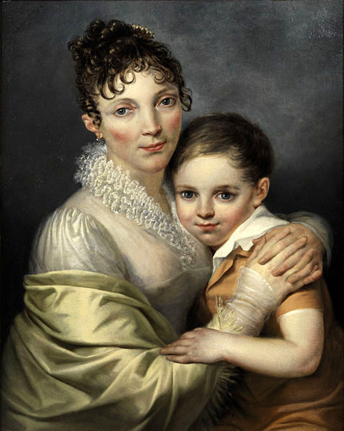 Young Woman With Her Son