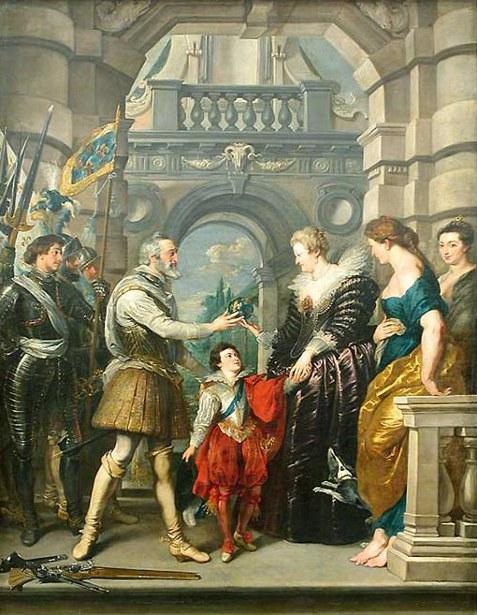 Préparatifs du roi pour la guerre d'Allemagne - La remise de la régence à la reine, le 20 mars 1610