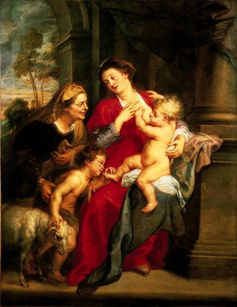 The Virgin And Child With St.Elizabeth And The Infant Baptist