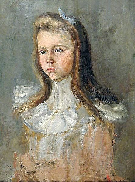 Theodor Joseph Hagen (1842 – 1919, German) | I AM A CHILD
