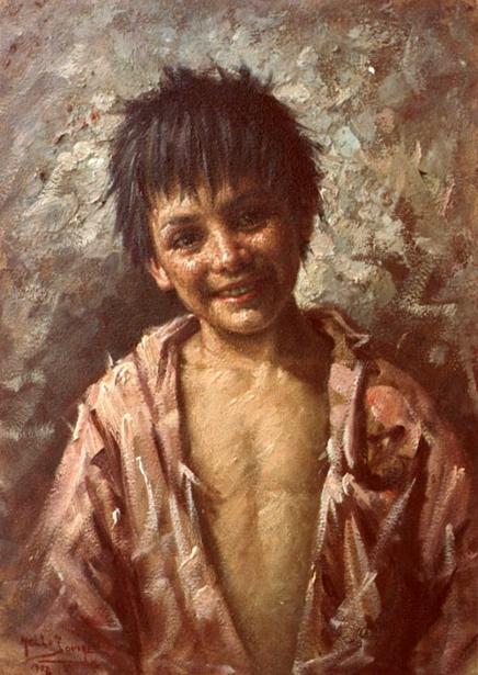 Nello Iovine 1935  Scugnizzo-napoletano-a-napoli-street-boy
