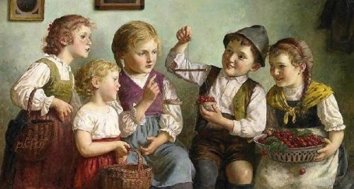 The Little Cherry Seller