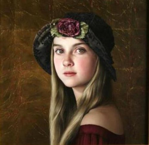 Duffy Sheridan - Portrait Of A Young Girl