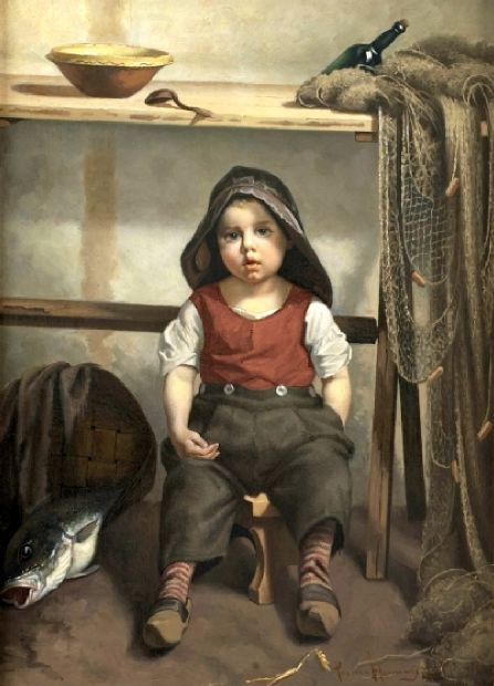 a little fisherman?w500 - Soooo Cute Paintings