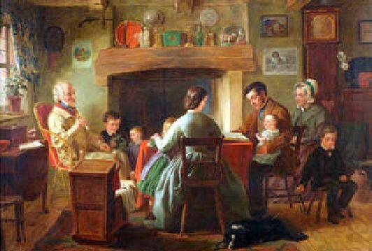 Le culte en famille