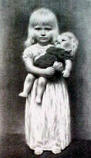 Doll with girl-6187