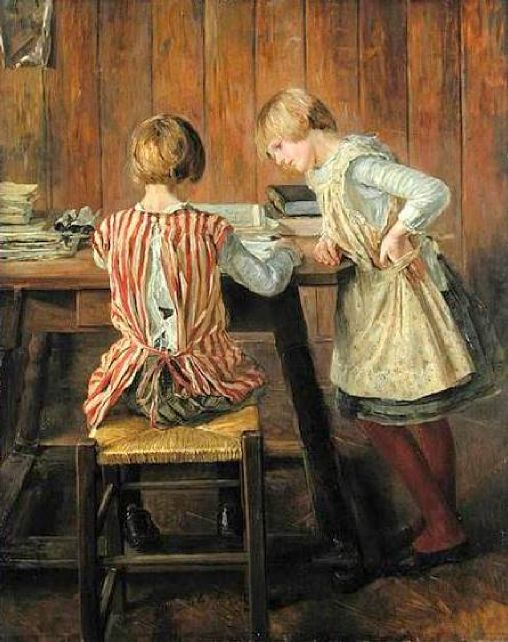 Albert Anker - Page 2 The-picture-book