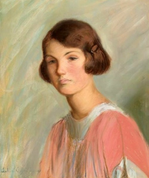 Edith Grew, the Artist's Grandaughter (2)