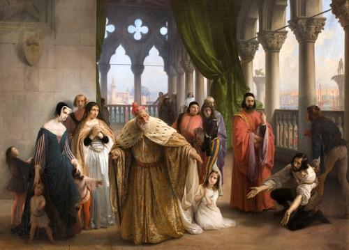 L'ultimo abboccamento di Giacomo Foscari figlio del doge Giuseppe