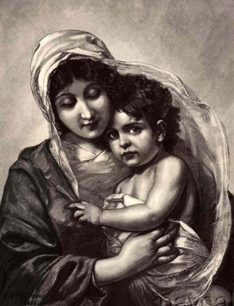 G.Papperitz - Madonna And Child