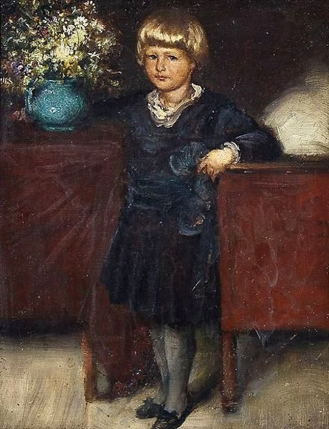 G.Papperitz - Portrait Of A Boy