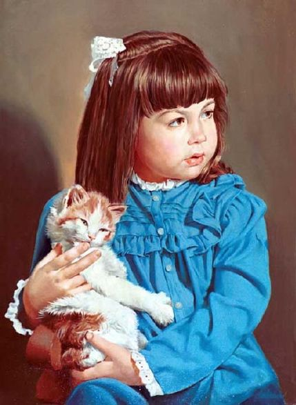 ◦˚ღ ســـجل حضــورك بــلوحه فنية ღ˚◦ Small_leslie-with-cat