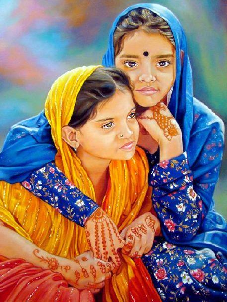 юние индиянки фото