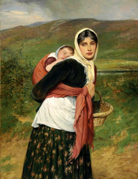 C.S.Lidderdale - Returning From Market