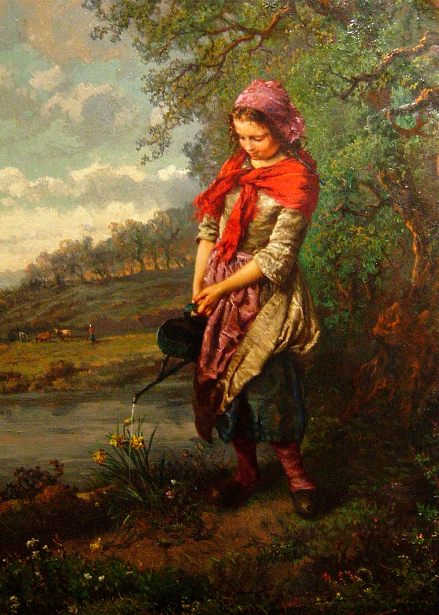 H. Campotosto - The Little Gardener