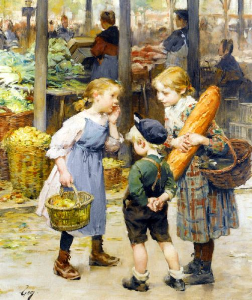 Henry Jules Jean Geoffroy Small_les-petites-menageres