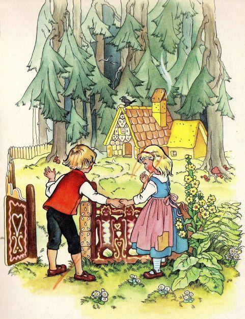 """""""Hansel and Gretel"""" (Brothers Grimm). """"Гензель и Гретель"""". Текст сказки на английском языке"""