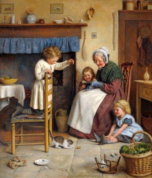 Joseph Clark - Teasing The Kitten