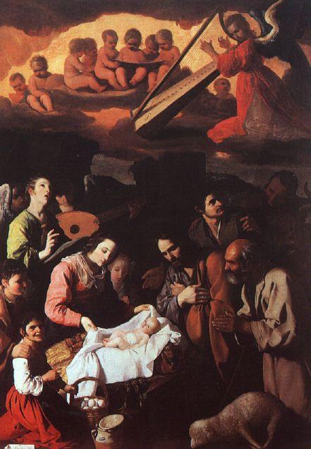 """""""La adoración de los pastores"""" de Francisco de Zurbarán"""